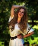 Irina Sharapovich - Kew gardens shoot