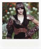 Steampunk Polaroid Serie (backstage & shoot)
