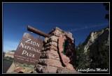 Zion US National Park
