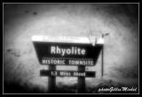 Rhyolite, ghost village