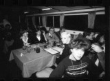 Germans hairdressers on London boat party. (Rainer Lint group)