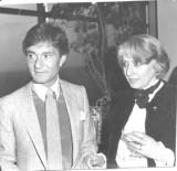 Vidal with Helen Oppenheim 81 in Toronto.