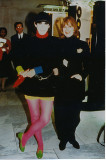 Peggy Moffitt  with Helen Oppenheim in New York, 1993