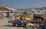 Wharf Market at Mykonos