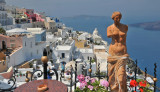 Santorini Cafe View