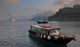 Mists over Santorini