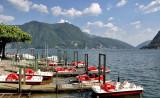 Colours of Lake Lugano