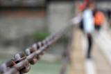 Chained Luding Bridge 瀘定橋上