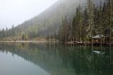 Wintery Lake 飄雪