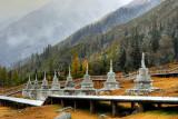Stupas, Shuangqiao Gully 白塔