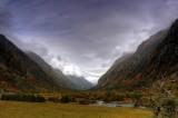 Shuangqiao Gully 溝內河谷