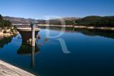 A Barragem de Paradela e o Rio Cávado