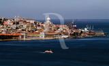 O Tejo e a Baixa de Lisboa