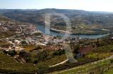 A Régua e o Douro Vistos do Miradouro de Santo António
