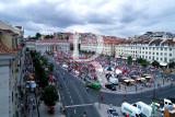 A Praça D. Pedro IV no Adeus Inglês