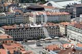 A Praça da Figueira Vista do Castelo