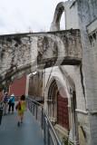 Ruínas da Igreja do Carmo em 2006