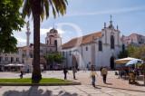Praça de Bocage e Igreja de São Julião