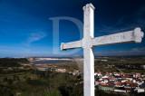 A Cruz do Miradouro de Salir do Porto