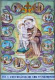 A Vida de Santo António em Azulejo