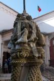 Coluna Torsa no Pátio do Eguicho, ou Central