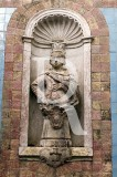 D. João VI, no Palácio dos Marqueses de Fronteira