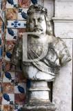 D. João IV, no Palácio dos Marqueses de Fronteira
