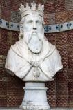 D. João II, no Palácio dos Marqueses de Fronteira