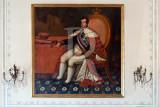 D. João VI, no Palácio de Mafra