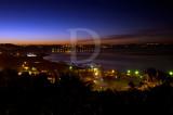 A Lagoa de Óbidos em 8 de janeiro de 2012