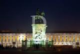 A Escultura que Marca a Praça do Comércio