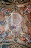 O Teto da Capela do Palácio de Queluz