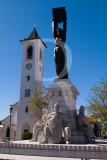 Monumento à Batalha de Ourique e Igreja Matriz