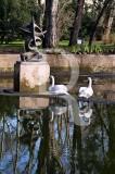 O Parque D. Carlos em 29 de janeiro de 2009