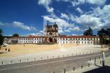 O Mosteiro de Alcobaça em 9 de Junho de 2007