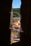 Silves Through the Battlement
