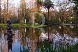 O Parque D. Carlos em 3 de janeiro de 2009