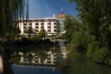 Hotel dos Templários e o Rio Nabão