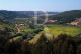 Vista do castelo para a Amoreira