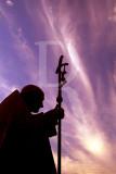 Estátua do Papa João Paulo II, do escultor polaco Czeslaw Dzwigaj