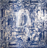 Azulejos do Museu - N. Sra. do Povo