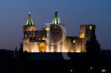 O Castelo de Porto de Mós à Noite