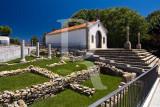 As Ruínas Romanas e a Capela do Calvário