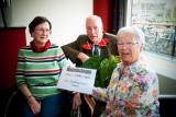 V.l.r.  Liesbeth Verhoeven, Arie Kooijman  en Toos van Wijk ,
