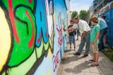 Viaanse Graffity Muur ingewijd
