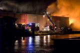 Brand bij Van de Scheur