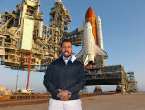 March 2011 - Suresh Atapattu during the payload transfer into the Space Shuttle Endeavor