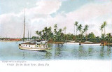 1905 - postcard image of the Miami River