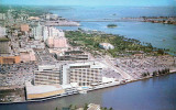 1950's - the Dupont-Tarleton Hotel on the Miami river in downtown Miami
