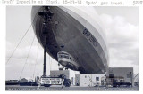 1933 - Germany's Graf Zeppelin with a Tydol gas truck at Naval Air Station Miami